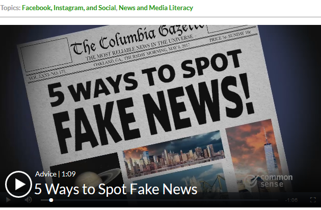 ways to spot fake news